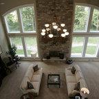 New Homes Photos Mediterranean Living Room Milwaukee