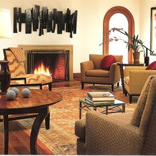Traditional Living Room by Mark A. Demmerle Architecture + Building