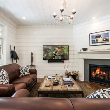 New Luxury Craftsman Home with Farmhouse Flair