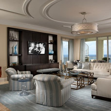 Contemporary Living Room by The Decorators Unlimited