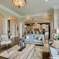 Traditional Living Room by Hollingsworth Design