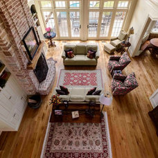 Traditional Living Room by The Woods Company