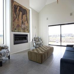New York Cemento Tiled Lounge - 3 Lombardia Way, Karaka -