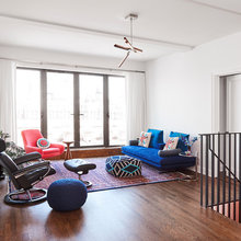 Bold Colors and Big Views Star in Manhattan Guesthouse in the Sky