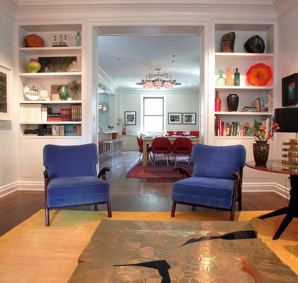 Contemporary Living Room by Alan Design Studio