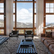 Rustic Living Room by Zabala Erickson, LLC