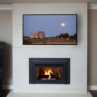 New York Fireplace Contemporary Realisation