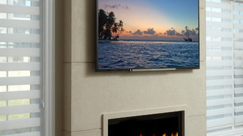 New York Linear Fireplace Mantel Project