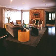 Modern Living Room by Dennis Connel Design Group