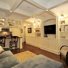 Traditional Living Room New York, New York