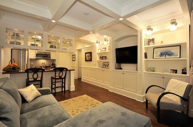 Traditional Living Room New York, New York