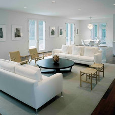 Contemporary Living Room by Harry Elson Architect PC