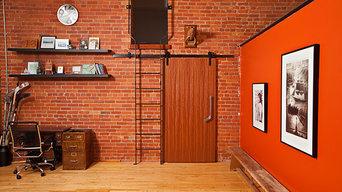 New York Style Loft barn door