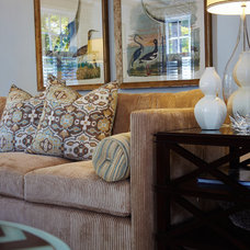 Eclectic Living Room by Bridget McMullin, ASID, CID, CAPS