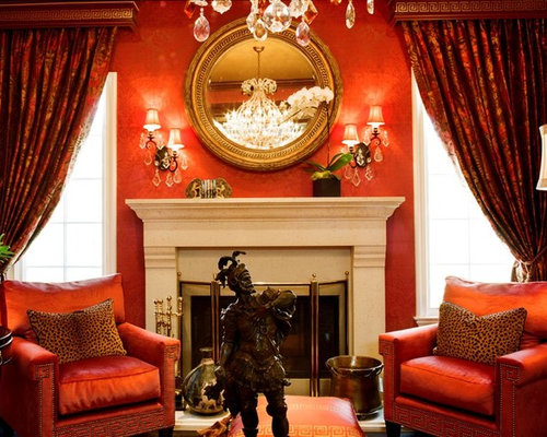 Red Living Room Ideas Pictures Remodel and Decor