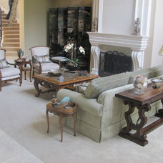 Traditional Living Room by Artistic Upholstery