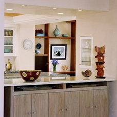 Contemporary Living Room by Connie McCreight Interior Design