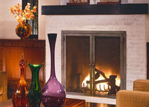 love this fireplace screen