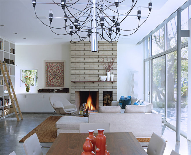 Modern Living Room by Paul Davis Architects