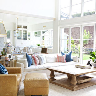 75 Most Popular Beach Style Living Room Design Ideas For 2018   Stylish  Beach Style Living Room Remodeling Pictures | Houzz