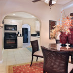Bordley Mediterranean Living Room Houston By