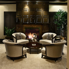Eclectic Living Room by David Rance Interiors