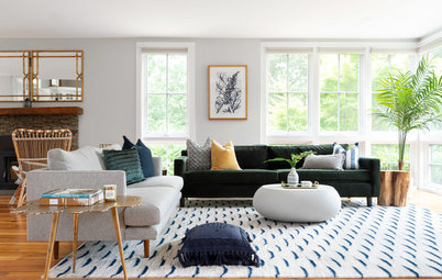 Tour a Designer's Modern Glam Beach House in Rhode Island