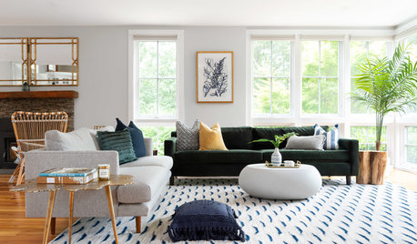 Tour a US Designer's Modern Glam Beach House on Rhode Island