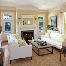 Traditional Living Room by Gale Goff Architect