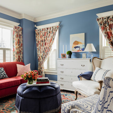 Newton Townhome Formal Living Room Design