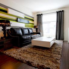 Modern Living Room by Momentum Interiors