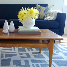 Midcentury Living Room by Niche Interiors