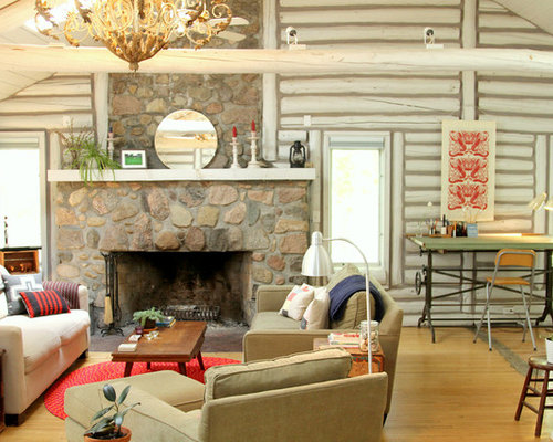 Log Walls Ideas Pictures Remodel And Decor