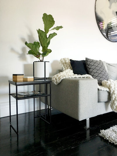 Modern Living Room by Evie Group