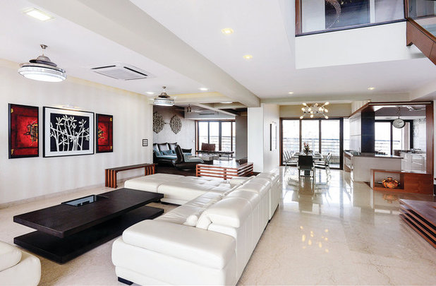 Contemporary Living Room by Prachi Damle Photography