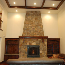 Craftsman Living Room by Sopris Mountain Investments, Inc