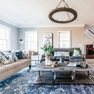 NJ Country House - Modern Farmhouse Living Room