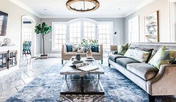 NJ Country House - Modern Farmhouse Living Room