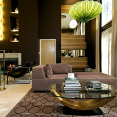 Contemporary Living Room by Alexander Johnson Photography