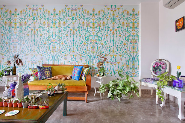 Eclectic Living Room by Mrigank Sharma Photography