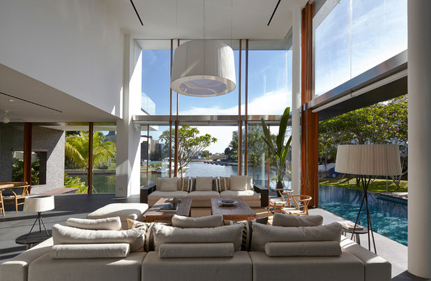 Living Room by Greg Shand Architects