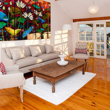 Contemporary Living Room by Lorena Ongaro-Anderson Design
