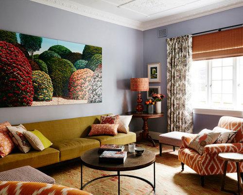 Mid century wohnzimmer mit teppichboden ideen design bilder beispiele - Teppichboden wohnzimmer ...