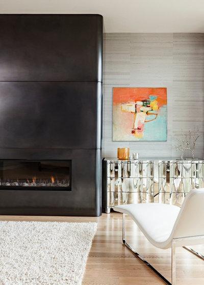 Modern Living Room by Maven Interiors