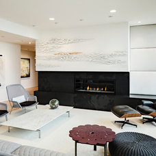 Modern Living Room by Maven Interiors