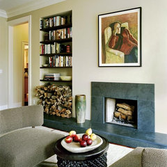 contemporary living room by Mobley Bloomfield
