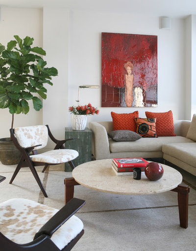 Contemporary Living Room by Wettling Architects