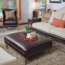 Traditional Living Room by Nordeen Design Gallery LLC