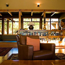 Craftsman Living Room by Trace Baron Construction