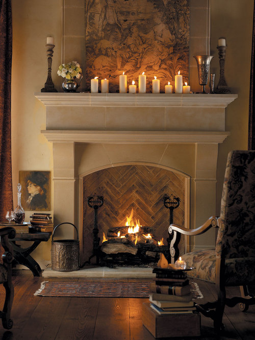 Cast Stone Fireplace Home Design Ideas, Pictures, Remodel ...
